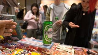 Alkoholtestkäufe zeigen offenbar Wirkung