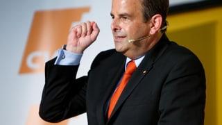 Gerhard Pfister schwört CVP auf Wertedebatte ein