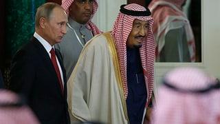 Russland hilft Saudi-Arabien beim Aufbau der Rüstungsindustrie