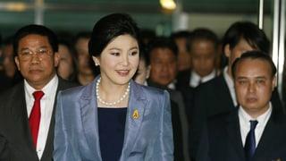 «Justizputsch» in Thailand? Regierungschefin tritt ab