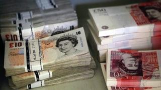 Brexit: Il pfund britannic perda marcant valita