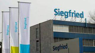 Siegfried mit mehr Reingewinn trotz Umsatzrückgang