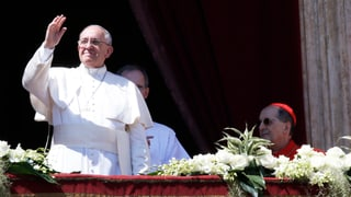 Papst erteilt Ostersegen «Urbi et Orbi»