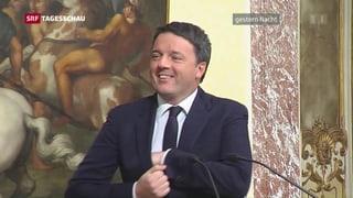 Renzi geht von Bord