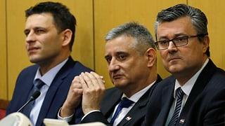 Kroatiens Regierung nach nur fünf Monaten am Ende