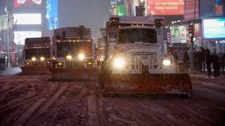 Schneesturm lässt 100 Millionen Amerikaner schlottern