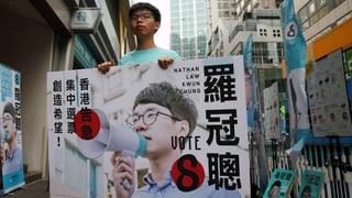 Schafft es Hongkongs junge Garde in die Politik?