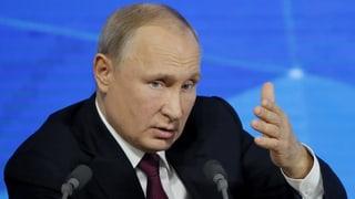 Russlands Präsident warnt vor der Gefahr eines Atomkrieges