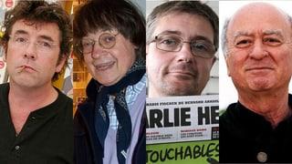 Das sind die getöteten Karikaturisten