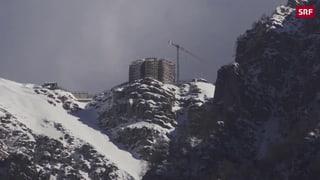 Auf dem Monte Generoso blüht nun eine «Steinblume»