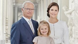Dicke Post: Die schwedische Königsfamilie zum Versenden