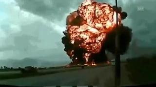 Transportmaschine in Afghanistan abgestürzt
