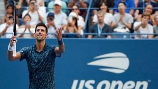 Djokovic löst Viertelfinal-Ticket souverän