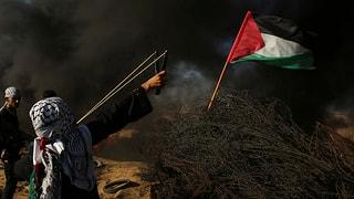 Terz demonstrant mora suneter protestas en Strivla da Gaza