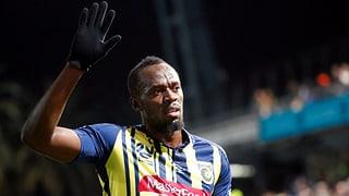 Bolt begräbt seinen Fussball-Traum