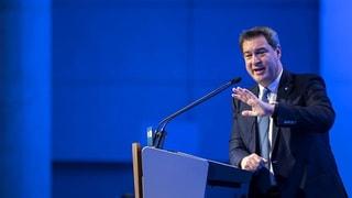 Markus Söder zum neuen CSU-Parteichef gewählt