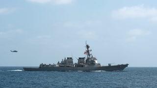 USA verstärken Präsenz im Golf von Oman