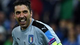 EURO-Splitter: Buffon noch lange nicht müde