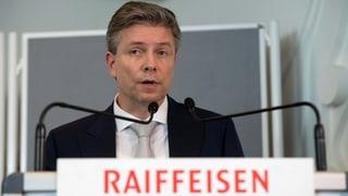 Raiffeisen-Präsidium: Gantenbein nimmt sich aus dem Rennen