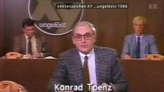 Verbrecherjäger Konrad Toenz lebt nicht mehr