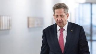 Verfassungsschutzpräsident Hans-Georg Maassen muss gehen