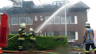 Aargauische Gebäude-Versicherung mit Gewinn - trotz Grossbrand