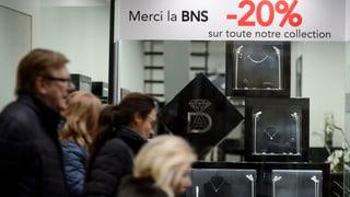 Schweizer Exporte schrumpfen erneut