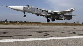 Moskaus Luftwaffe beendet ihre einjährige Feuerpause