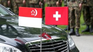 Singapur und Schweiz tauschen Steuerinformationen automatisch aus