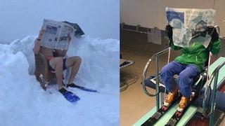 Unsere Antwort auf Andri Ragettlis verrückten Schneetaucher
