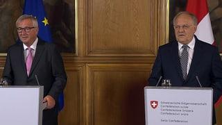 Juncker: «Bin zuversichtlicher als in den letzten Wochen»