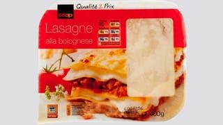 Pferdefleisch? Coop zieht Lasagne zurück