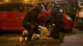 100 Verletzte nach Protesten in Katalonien
