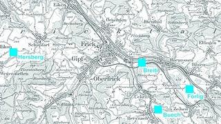 Schwierige Standortsuche für Deponien im Oberen Fricktal