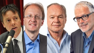 Rapperswil-Jona: Drei Parteilose gegen Erich Zoller