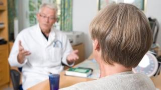 «Muss mir der Arzt ein Rezept ausstellen?» (Artikel enthält Audio)