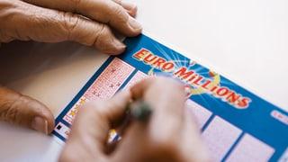Fetter «Euro Millions»-Jackpot geht in die Schweiz