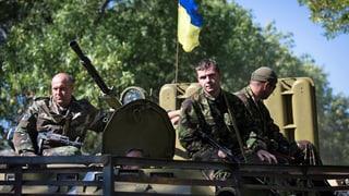 Waffenruhe in der Ostukraine hält – trotz Misstrauen