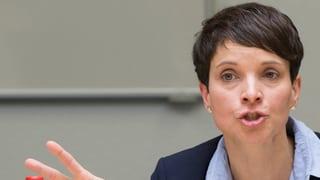 AfD-Petry: «Zählt die Schweiz Deutsche auch zu den Ausländern?»