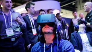Facebook setzt auf virtuelle Realität