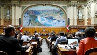 Mehrausgaben des Parlaments verstossen gegen Schuldenbremse