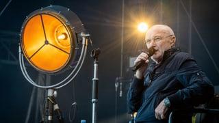 Phil Collins live in Zürich: Mit Gehstock und Welthits (Artikel enthält Bildergalerie)