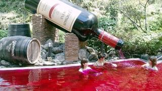 Japan: Baden in Wein, Schokolade und Grüntee