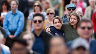 Mehr als 20'000 Menschen gedenken Christchurch-Opfern