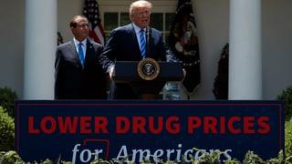 Trump wettert gegen zu hohe Medikamentenpreise