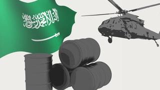 Infografik: Durch Öl- und Waffen-Deals international vernetzt