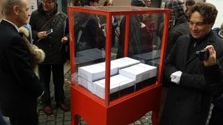 Mehr als 5000 Unterschriften fürs Literaturmuseum Strauhof