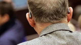 Nicht zögern bei Hörgeräten