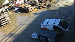 San Murezzan – inundaziun d'in ual cun consequenzas