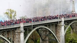 Basler Fans planen wieder einen Marsch durch Bern